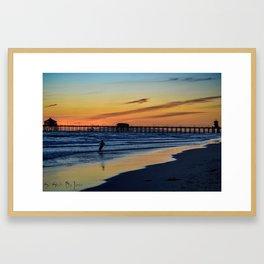 Cool Down (Surf City USA) Framed Art Print