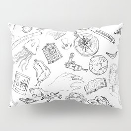 Life can be sketchy. Pillow Sham