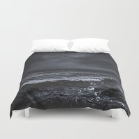 snow Duvet Covers featuring I´m fading by HappyMelvin