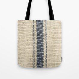Vintage French Farmhouse Grain Sack Tote Bag