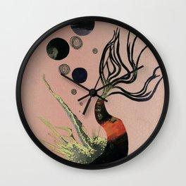 Koi Bubbles Wall Clock