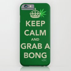 Keep calm and grab a bong iPhone 6s Slim Case