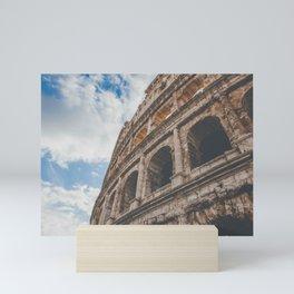 Roman Colosseum Mini Art Print