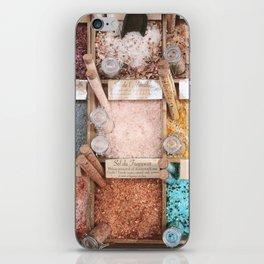 Prettiest of salts, Nice France iPhone Skin