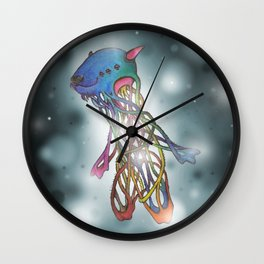 Earth Angel Wall Clock