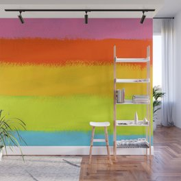 Rainbow Painting Wall Mural