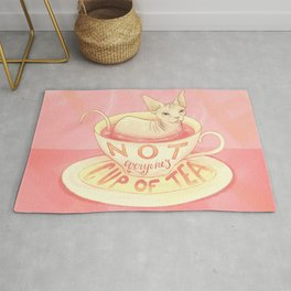Not everyone's cup of tea - Sphynx Cat Rug