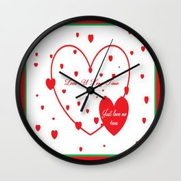 Cabsink16DesignerPatternLEV Wall Clock