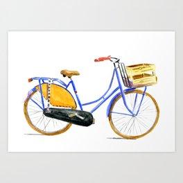 Dutch bike Art Print