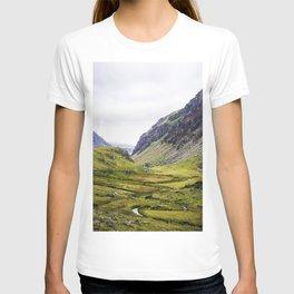 Green Irish Valley T-shirt
