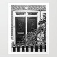 door Art Prints featuring door by habish