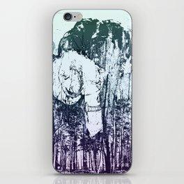 Through the trees iPhone Skin