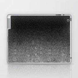 Silver & Black Glitter Gradient Laptop & iPad Skin