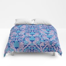 Psychedelic Camouflage Comforters