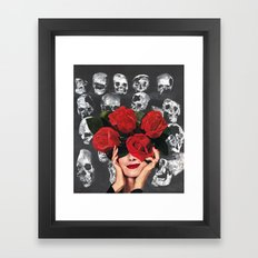 IMMORTELLE Framed Art Print