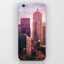 Decode in Downtown Seattle iPhone Skin