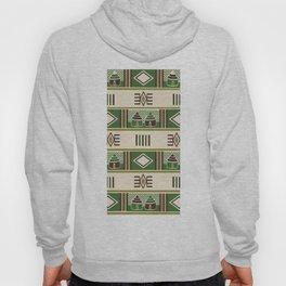 African Tribal Pattern No. 219 Hoody