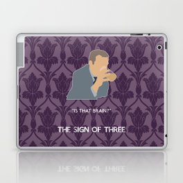 The Sign of Three - Greg Lestrade Laptop & iPad Skin