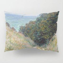 1882-Claude Monet-Road at La Cavée, Pourville-60 x 81 Pillow Sham