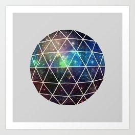Geodesic IV  Art Print