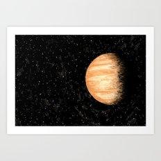 Jupiter Like Art Print