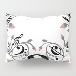 Music swirl Pillow Sham