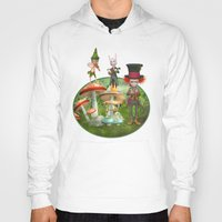 concert Hoodies featuring Night Concert by Simone Gatterwe