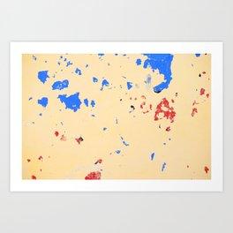 131. Destroy Yellow, Cuba Art Print