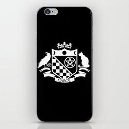 Cabot Crest Hermetic White/Black iPhone Skin