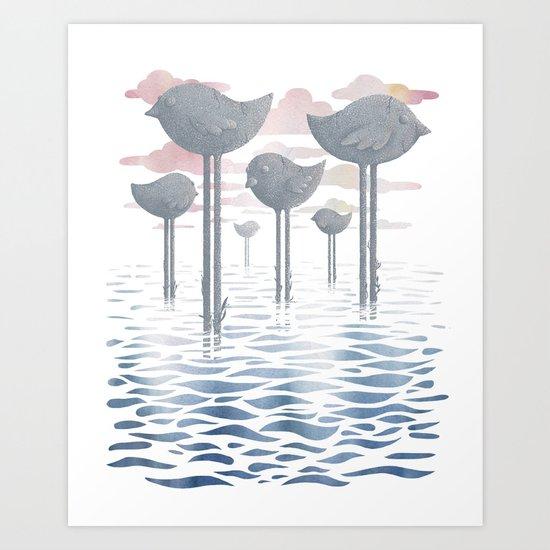 The Remnants Art Print