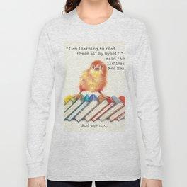 Little Red Hen Reads Long Sleeve T-shirt
