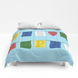 I heart Nepal Comforters