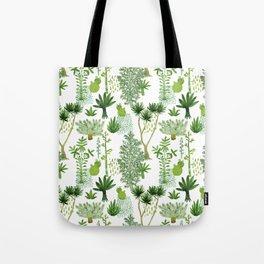 Green jungle pattern Tote Bag