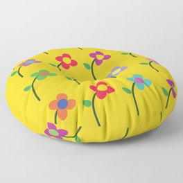 garden of styles Floor Pillow