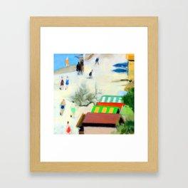 Clarice Beckett Sandringham Beach Framed Art Print