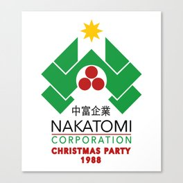 Nakatomi Christmas party Canvas Print