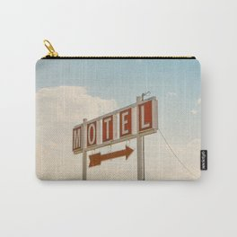 ABANDONED DESERT MOTEL Carry-All Pouch