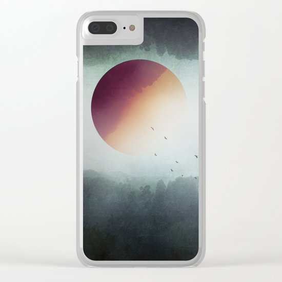 impossible wilderness Clear iPhone Case