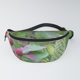 Apple tree and pinewood Fanny Pack