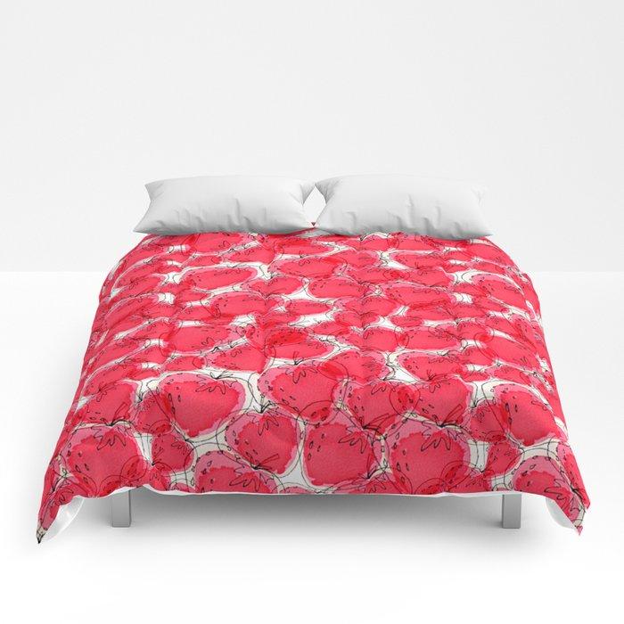Strawberries Comforters
