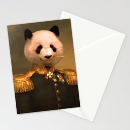 Panda Bear General | Cute Kawaii Stationery Cards