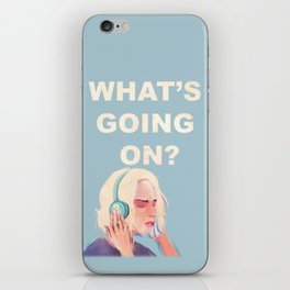 What's Going On? iPhone Skin