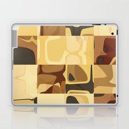 Mid Century Modern Pattern Geometric Art by Michel Keck Laptop & iPad Skin