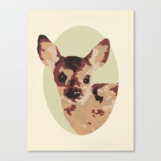 Oh Deer, oh dear! Paint-ed by Numbers Canvas Print