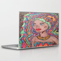 african Laptop & iPad Skins featuring African by havana