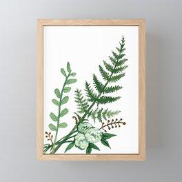 Fern Collection Framed Mini Art Print