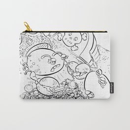 Buried Treasure - ink Carry-All Pouch