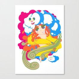 Japnese Wind goddess -FUJIN- Canvas Print