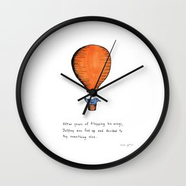 Jeffrey was fed up Wall Clock