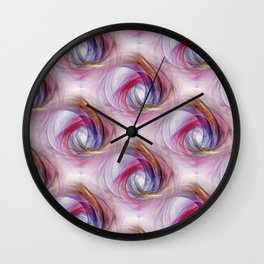 wild pattern -6- Wall Clock
